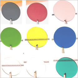 Coloured Acrylic Discs