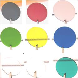 Dischi Colorati Plexiglass