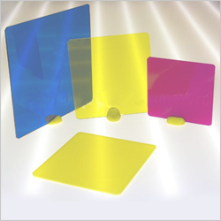 Coloured Acrylic Squares