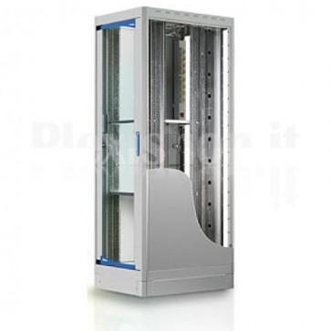 "Armadio Server Rack 19"" 600x1000 27 Unita' Grigio"