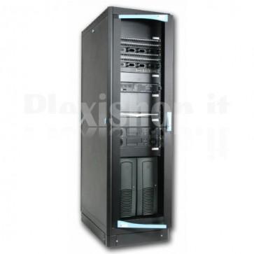 "Armadio Server Rack 19"" 600x1000 27 Unita' Nero serie Lite"