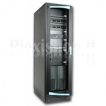 "Armadio Server Rack 19"" 600x1000 42 Unita' Nero serie Lite"