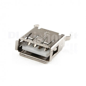 Connettore USB tipo A Femmina - 180°