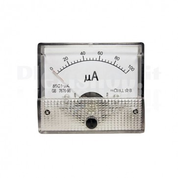 Microamperometro analogico da pannello