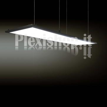 Pannello Led Rettangolare 1200 x 300 mm 70W - Bianco Caldo