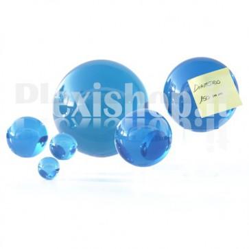 Sfera in Plexiglass Azzurro da 150mm