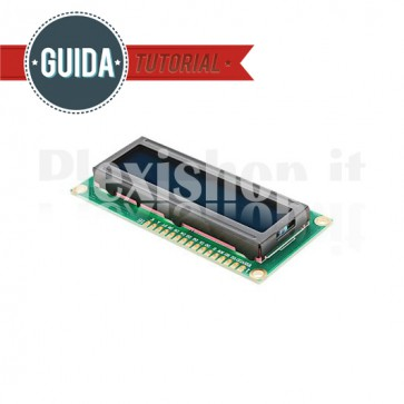 Display LCD 1602ZFA 16x2