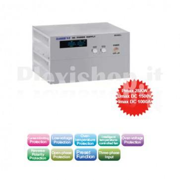 Alimentatore Variabile ad Alta Potenza 0-200V/0-100A