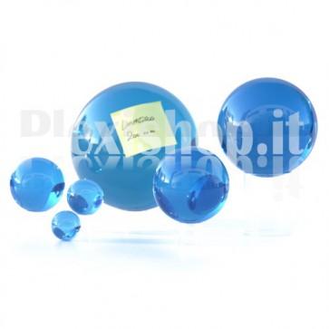 Sfera in Plexiglass Azzurro da 200mm
