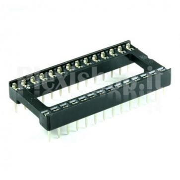 Zoccolo per circuito integrato 28 Pin