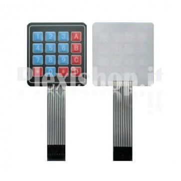 Tastiera a matrice 4x4