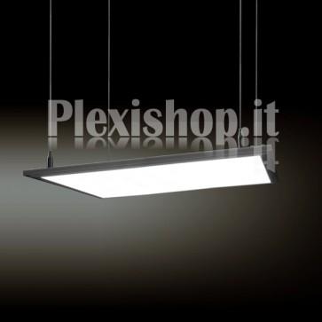 Pannello Led Quadrato 600 x 600 mm 70W - Bianco Caldo