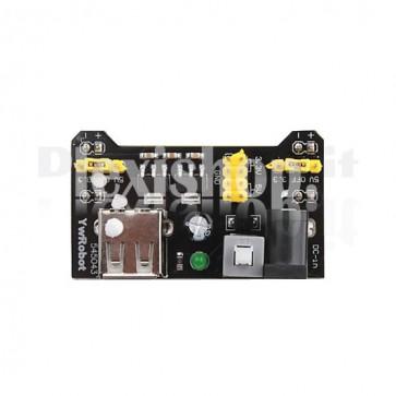 Regolatore di tensione doppio 3.3V e 5V MB102