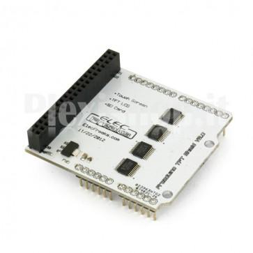 Arduino Shield v2.0 per LCD TFT01