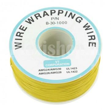 Bobina Cavo wire/wrapping 30AWG - Giallo