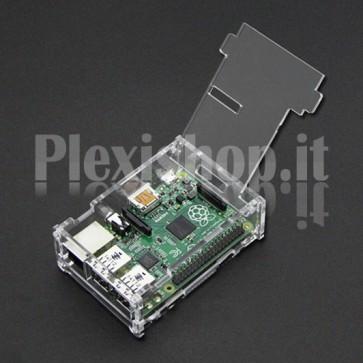 Case in Acrilico per Raspberry Pi B+ 512MB