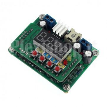 Circuito B3603, regolatore di tensione digitale con memoria e voltometro.