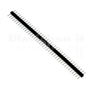 Connettore strip line pin maschio 1x 40 pins passo 2,00mm