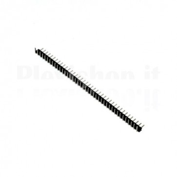 Connettore strip line pin maschio angolare 1x 40 pins passo 2,00mm