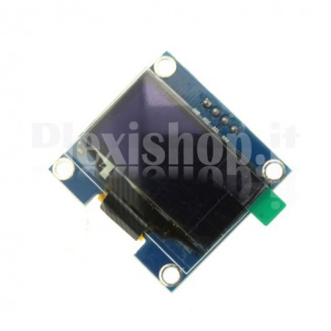 "Display OLED LCD Blu 1.3"" IIC/I2C 4pin"