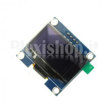 "Display OLED LCD Blu 1.3"" IIC/I2C 4pin"