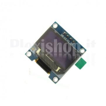 "Display OLED LCD Blu e Giallo 0.96"" SPI 6pin"