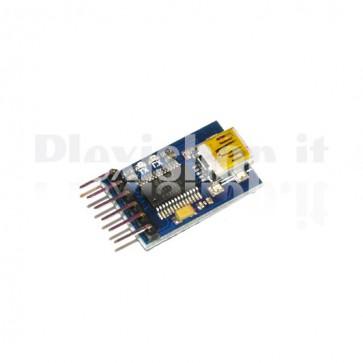 FT232RL adattatore microUSB RS-232 TTL