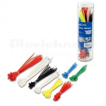 Fascette Fermacavo Colorate Set da 200 pz
