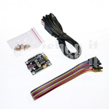 KIT FT232RL adattatore USB RS-232 TTL