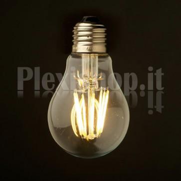 Lampadina Edison filamento LED 3.5W - Goccia 55mm