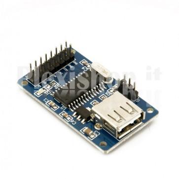 Modulo CH376, disco allo stato solido su USB