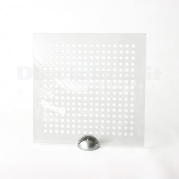 Plexiglass Preforato Trasparente - Bubble 10