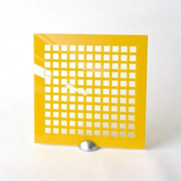 Plexiglass Preforato Colorato - Square 15