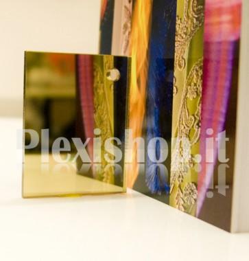 Plexiglass Specchiato Dorato
