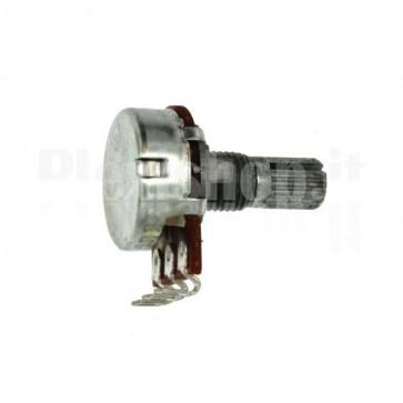 Potenziometro rotativo 100 K montaggio filo - A100K