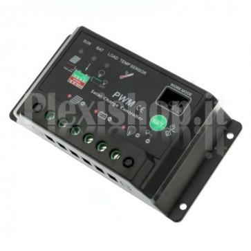 Regolatore di carica fotovoltaico M-C10A
