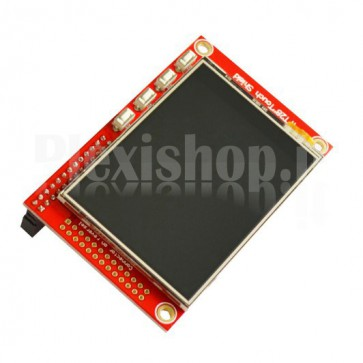 "Touch screen 2.8"" per Raspberry PI B+"