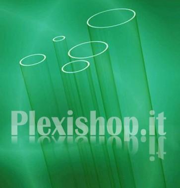 Tubo plexiglass Ø 12(e)/8(i) mm