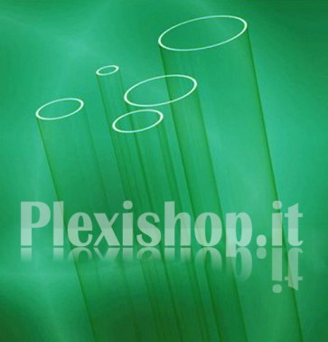 Tubo plexiglass Ø 15(e)/9(i) mm