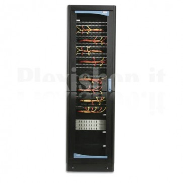 "Armadio Rack 19"" 600x800 33 Unita' Nero"