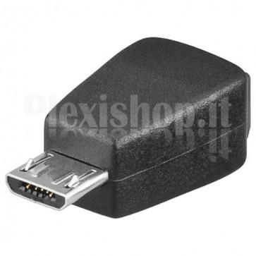 Adattatore Mini USB 2.0 B femmina/micro B maschio