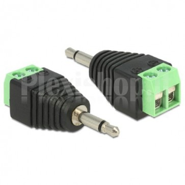 Adattatore Audio 3.5'' Maschio Terminal Block 2 pin