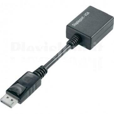 Adattatore DisplayPort DP M a VGA F
