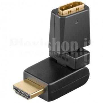 Adattatore HDMI M/F Ruotabile