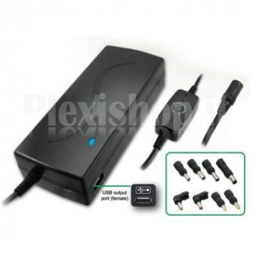 Alimentatore per  notebook 110 Watt con porta USB