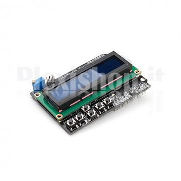 Modulo DFR0009, Modulo LCD e tastiera associata