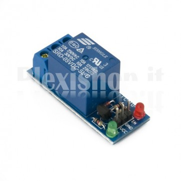 Modulo Relay 5V - Low triggered