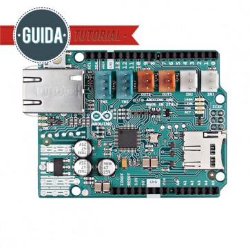 Arduino Ethernet Shield 2 SENZA modulo PoE