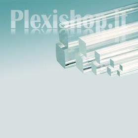 Barra Quadrata in Plexiglass 10x10 mm