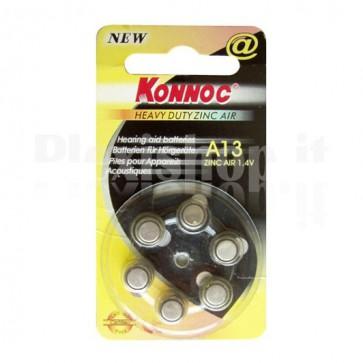 Batterie a bottone (PR13, DA13, EP13E) 6pz